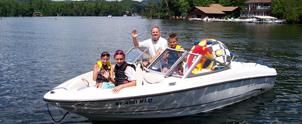 Boat Rental | Captain Marney's Boat Rental  - Lake Placid, NY